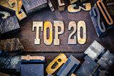 Top 20 Concept Rusty Type