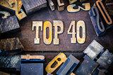 Top 40 Concept Rusty Type