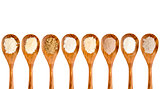 gluten free flour spoon set
