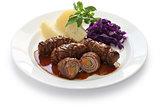rouladen, beef olive, German beef roll