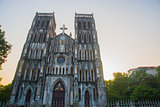 The Catholic Cathedral in Vietnam