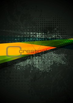 Grunge concept vector background