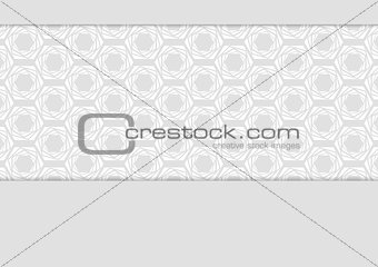 Abstract grey tech corporate design