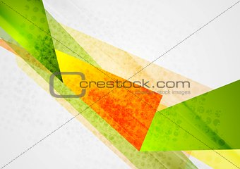 Bright abstract modern background