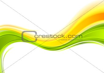Abstract smooth vector wavy background