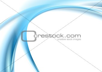 Abstract elegant background with blue waves