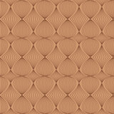 Seamless pattern in coffee tones
