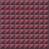 wall with pink purple pyramid tiles pattern