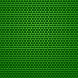 Perforated Green Background.