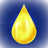 Yellow Oil Drop