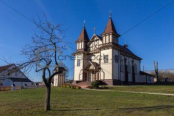 Catholic Church  in Polonechka (Poloneczka), Belarus.
