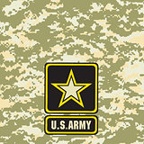 Light green army camouflage background