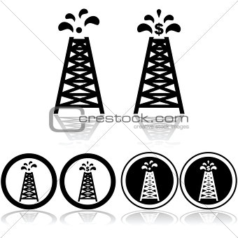 Oil tower