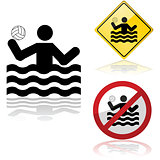 Water polo signs
