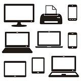 Digital device icons