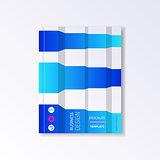 Brochure or book design template