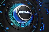 Dreams Controller on Black Control Console.