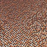 Bricks labyrinth