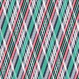 Rhombic tartan seamless texture