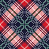 Diagonal tartan seamless texture in various colors
