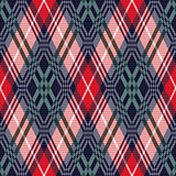 Rhombus tartan seamless texture in various colors