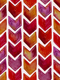 Vector Seamless Watercolor Geometric Pattern