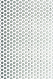 Perforated metal grid texture
