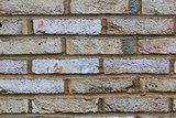 Weathered brick wall texture background