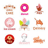 biggest collection of vector logos desserts