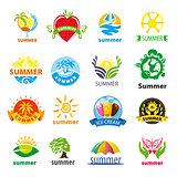 biggest collection of vector logos summer