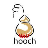 vector logo moonshine to create alcohol