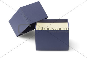 Blue Packaging Box
