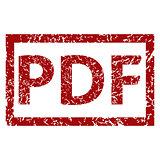 PDF grunge rubber stamp