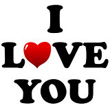 I love you symbol