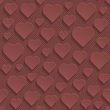 Marsala color perforated paper