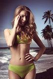 fit girl in bikini