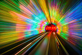 Tunnel Motion Blur
