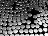 metal cylinders background
