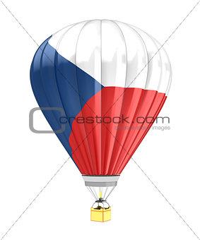 czech flag balloon
