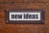 new ideas label
