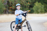 kid biking