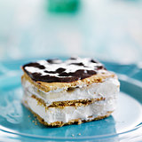 no bake graham cracker eclair