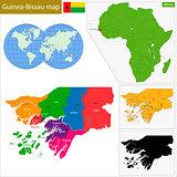 Guinea-Bissau map