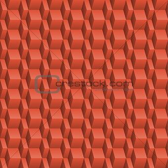 Abstract orange seamless texture