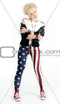 beautiful punk girl