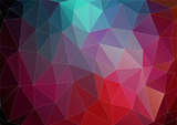 Vector pattern of geometric shapes