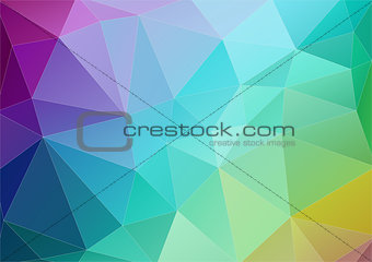 Abstract multicolor polygonal background