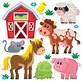 Farm animals set 2