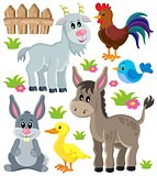 Farm animals set 3