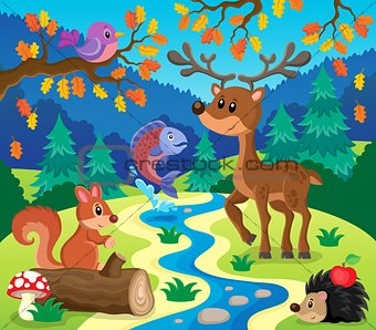 Forest animals topic image 1